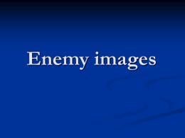 Enemy images - PsySR: Psychologists for Social