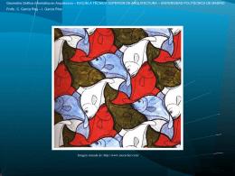 Escher - Geometría Gráfica Informática en