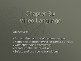 Chapter Six Video Language