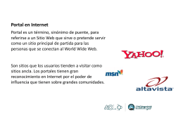 Portal en Internet