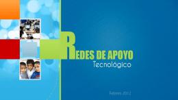 REDES DE APOYO TECNOLÓGICO