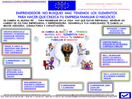 Diapositiva 1 - CONSULTORES EMPRENDEDORES