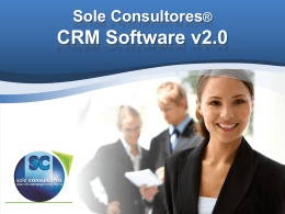 Sole Consultores®CRM Software v2.0