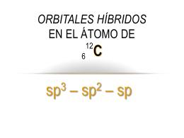 Hibridación del C