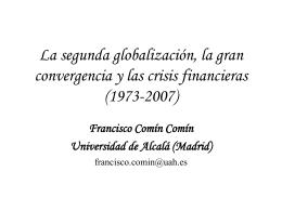El retorno de la globalización y las crisis
