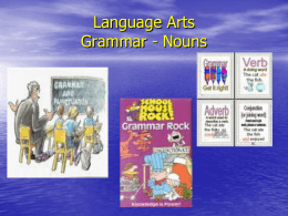 Nouns - Bowling Green High School