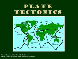 Plate Tectonics - Historymartinez`s Blog