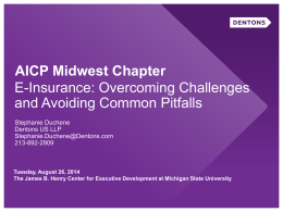 AICP Midwest Chapter - Association of Insurance