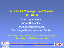 Data Grid Management System
