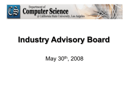 IAB 2005 - California State University, Los