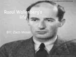 Raoul Wallenberg's life