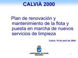 CALVIÀ 2000