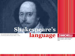 5. SHAKESPEARE`S LANGUAGE