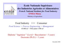 Ecole Nationale Supérieure des Industries