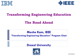 Transformating Engineering Education Summary -
