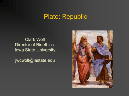Plato Republic - Iowa State University