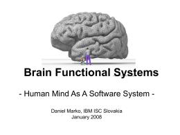 Funkčné systémy mozgu