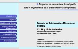 Diapositiva 1 - Universidad Nacional de Río Cuarto