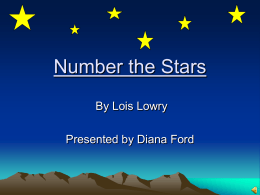 Number the Stars - High Point University