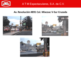 MDF349N1 Av. Revolución esq. José del Castillo #5