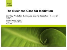 Mediation - ICC India