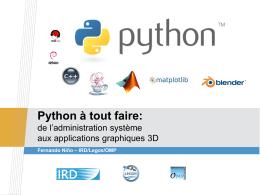 Python à tout faire