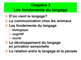Chapter 1 The Study of Language