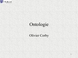 Ontologie - Sophia