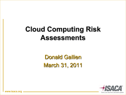 cloud_computing_risks - Isaca