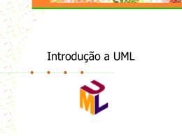 Introdução a UML - Departamento de Informática -