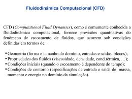 O que é CFD - Faculdade de Engenharia Mecânica