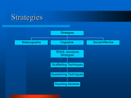 Strategies - Arizona State University