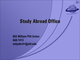 Study Abroad Office