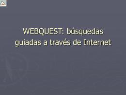 WEBQUEST: Llengua i Literatura a través d'Internet