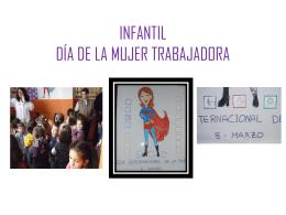 INFANTIL DÍA DE LA MUJER TRABAJADORA