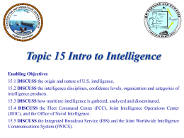 Topic 14 Intel