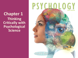 Psychology 10th Edition David Myers