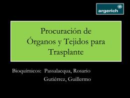 Procuración de Órganos