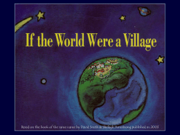 If the world were a village of 100 people -