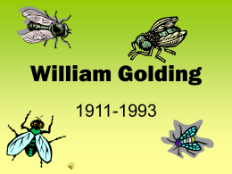 William Golding - North Warren Central School