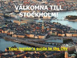 Bild 1 - Stockholms Universitets Studentkår