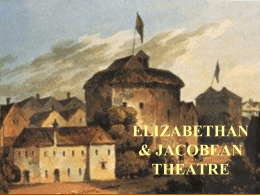 ELIZABETHAN THEATRE - SCF Faculty Site Homepage