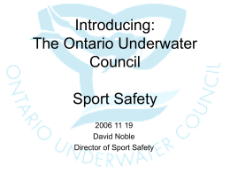 Introducing OUC Sport Safety