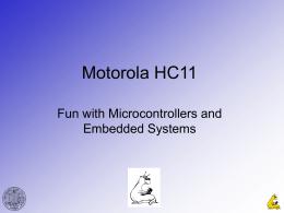 Motorola HC11 - Courses | Course Web Pages