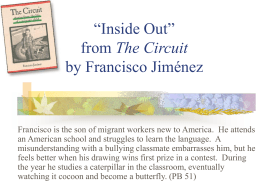"`Inside Out"" from The Circuit by Francisco Jiménez"