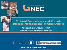 GNEC - Cultural Competence
