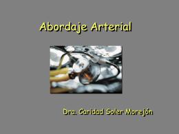 Abordaje Arterial