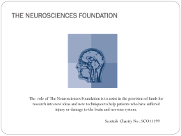 THE NEUROSCIENCES FOUNDATION