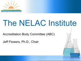 The NELAC Institute