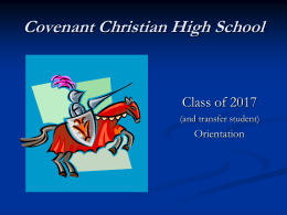Covenant Christian High School